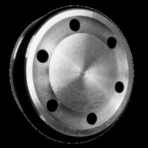Testa pistone cuscinettata in ergal con doppio or per pistole elettriche AEP/CMG (TPAEP)